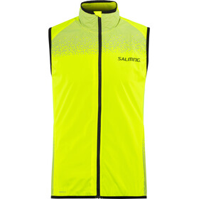 Salming Skyline bodywarmer Heren, yellow